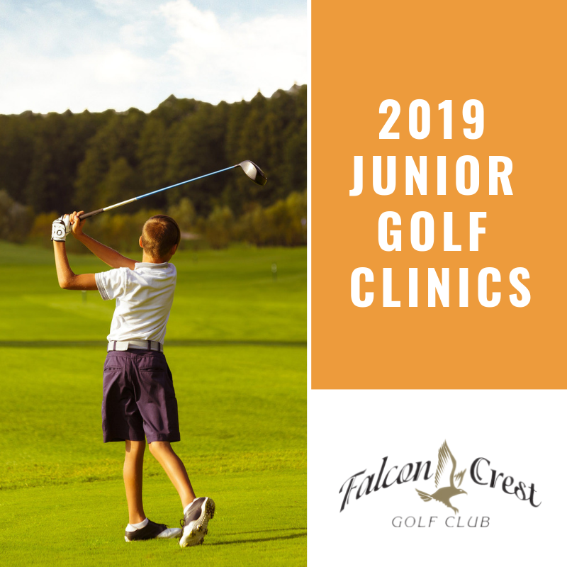 Junior Golf Programs at Falcon Crest!